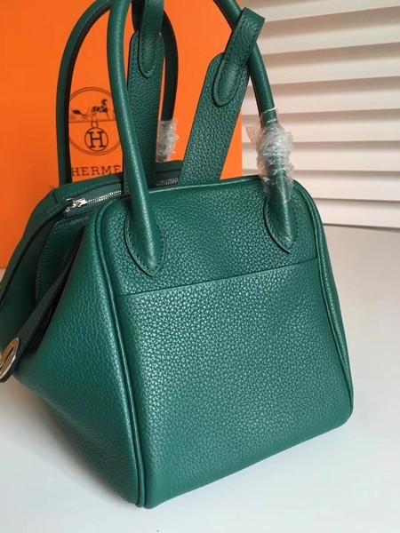 7fcc017f2717 Source · Hermes Lindy Original Togo Leather Bag 5086 Green 5086 pv20180410