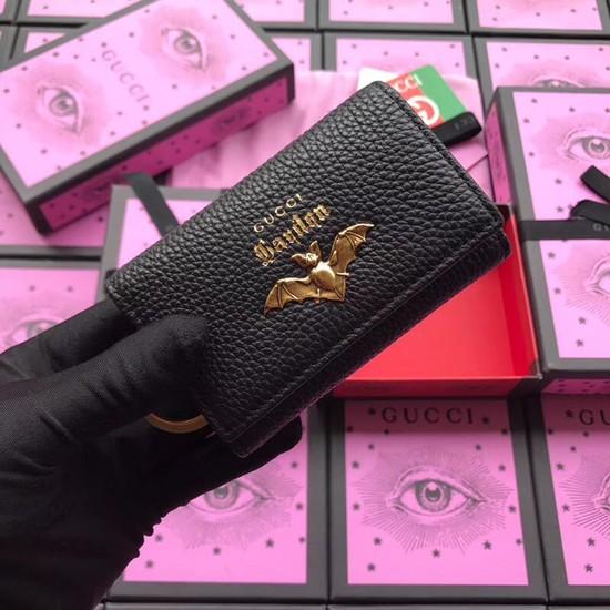 Gucci GG Supreme key case Bat 519801 black