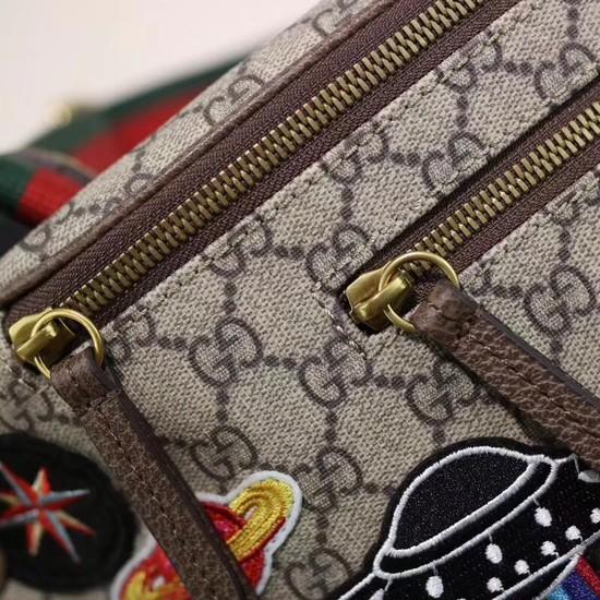 92264f6695c4 Gucci Night Courrier soft GG Supreme belt bag 529711 brown  [529711-pv20180524] -