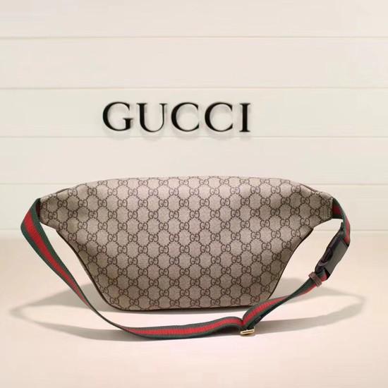 d3a68c275956 Gucci Night Courrier soft GG Supreme belt bag 529711 brown  [529711-pv20180524] -