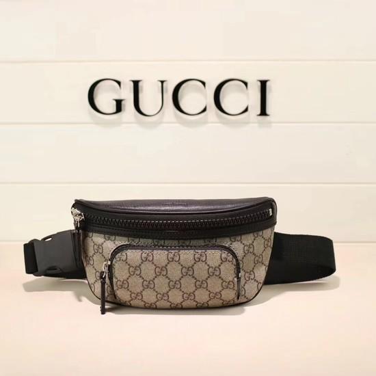 8d4d4567940c Gucci Soft GG Supreme belt bag 450946 black [450946-pv20180524 ...