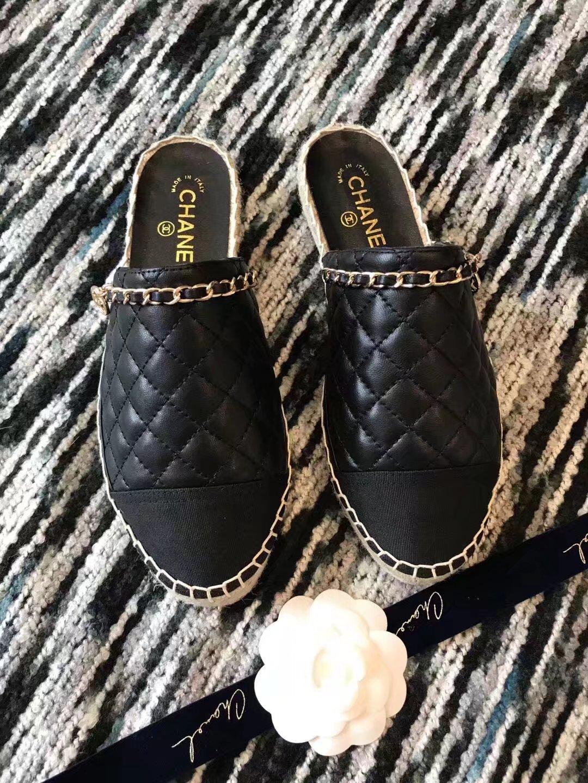 Chanel Slippers CH2336LRF black