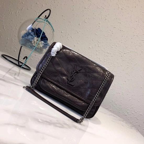 Yves Saint Laurent MINI Niki Chain Bag 498893 fuchsia