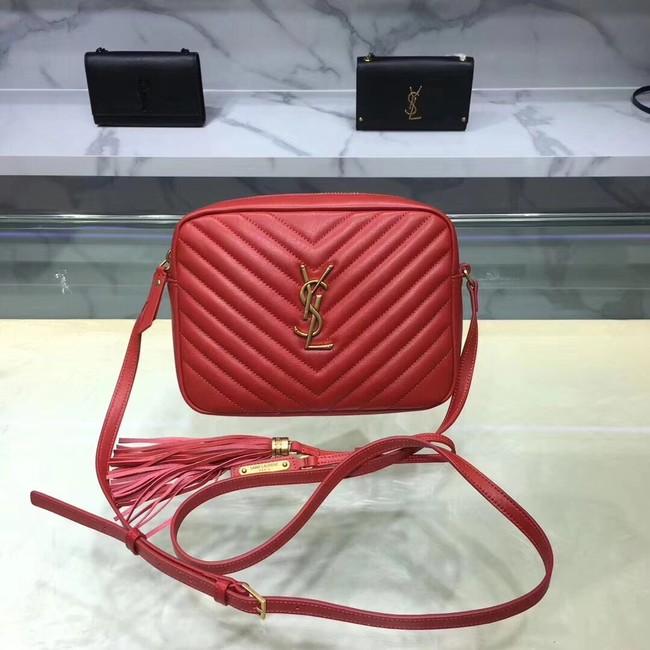 Saint Laurent Lou Medium Camera Bag 520534 red