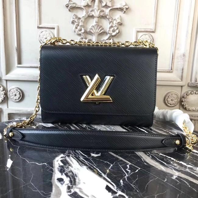 Louis vuitton original epi leather TWIST MM M50332 black