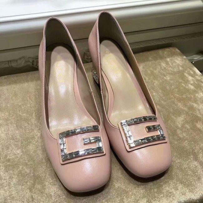 Gucci High-heeled shoes GG1378LD pink Heel high 5CM