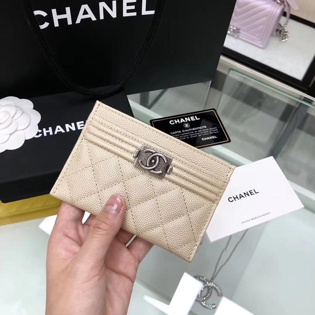BOY CHANEL Card Holder A84431 gold