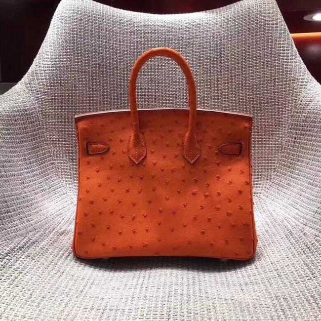 026002afb2e ... coupon code for hermes real ostrich leather birkin bag bk35 orange  a8ba0 d5085