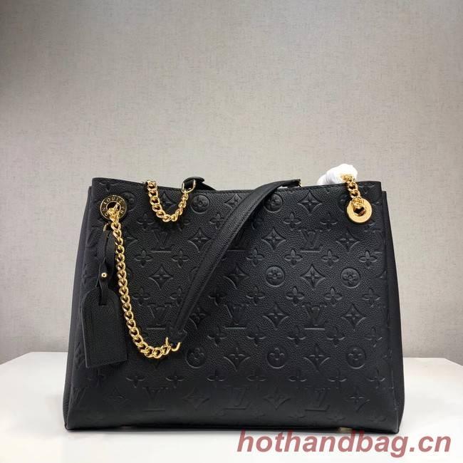 Louis Vuitton Original Monogram Empreinte SURENE MM M43758 black