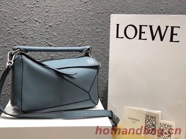 Loewe Puzzle Bag Original Leather L9124 Light Blue