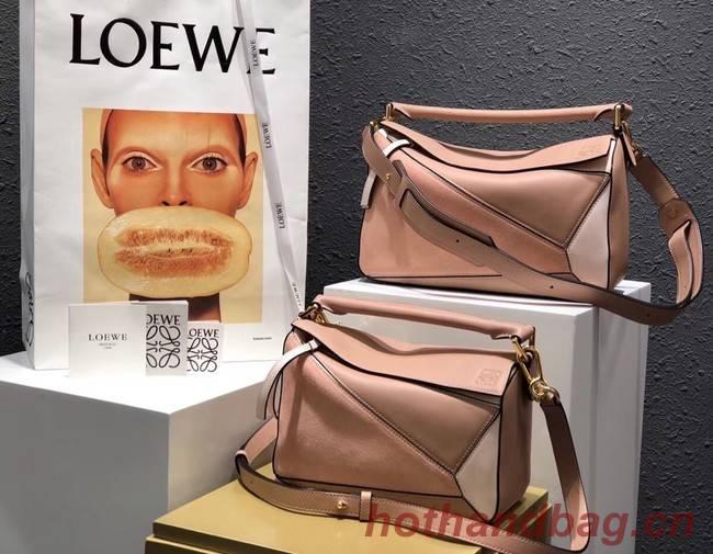 Loewe Puzzle Bag Original Leather B9124 pink