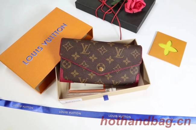 Louis Vuitton CAISSA WALLET N61184 fuchsia