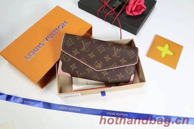 Louis Vuitton CAISSA WALLET N61184 pink