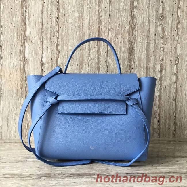 Celine Belt Bag Origina Leather Tote Bag A98311 sky blue