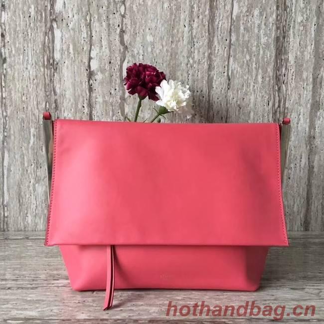 Celine calf leather Shoulder Bag 90054 rose