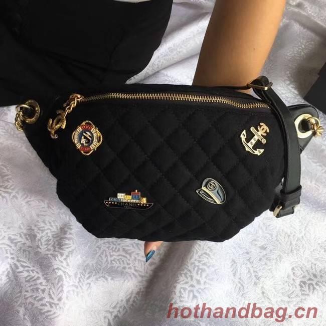 Chanel Original Waist Bag A57869 black