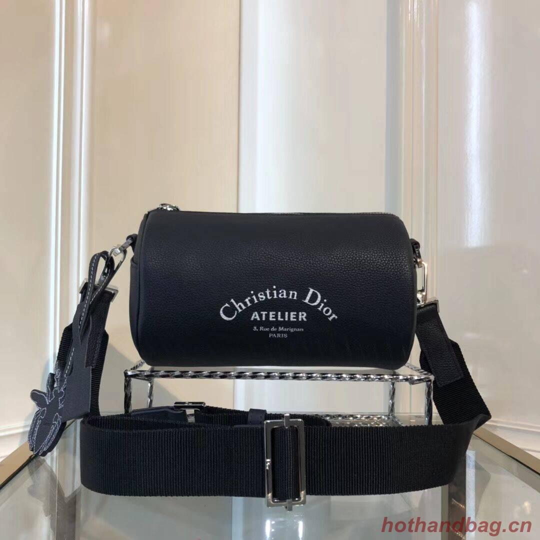 ... Dior Original GRAINED CALFSKIN ROLLER POUCH WITH ATELIER PRINT 1ATPO061  Royal Blue ... aa41dfa7e9