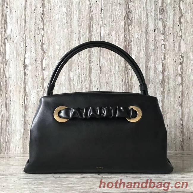 Celine calf leather Tote Bag 83187 black