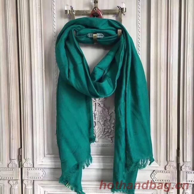 Hermes Silk scarf H919669 green