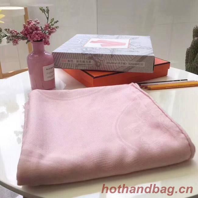 Hermes Silk scarf H919669 pink