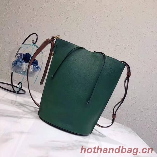 Loewe Crossbody Bags Original Leather 10188 green
