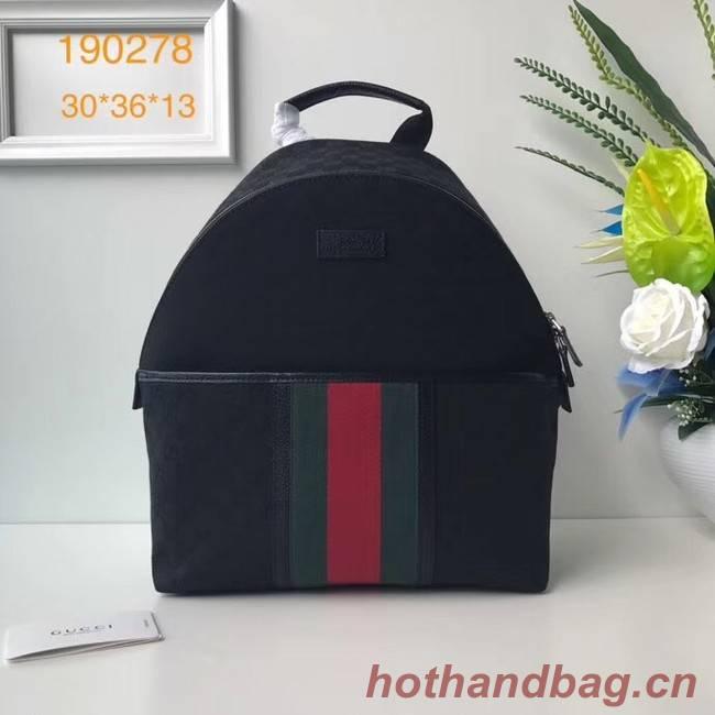 Gucci GG Supreme backpack 190278 black