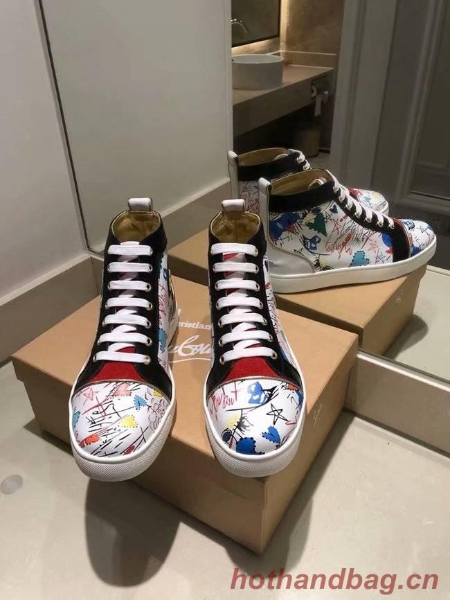 CHRISTIAN LOUBOUTIN Vieira Spikes Orlato sneakers CL1023