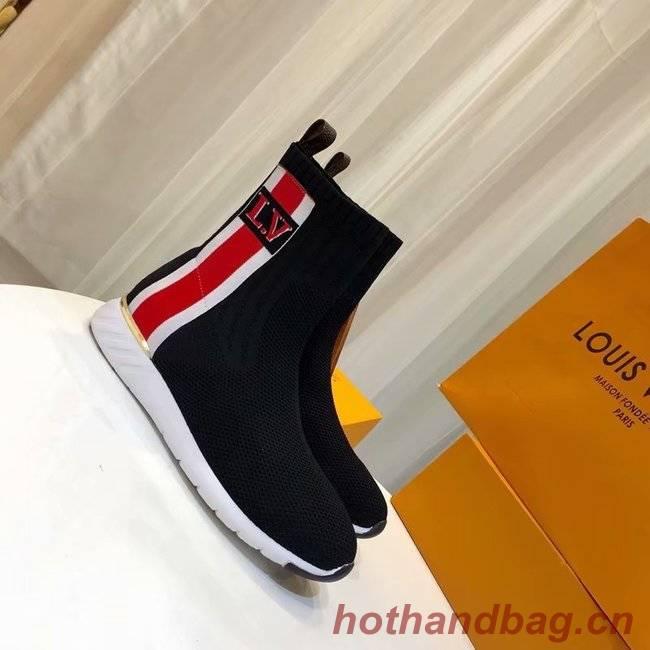 591e6dcbb1b7 Louis Vuitton AFTERGAME SNEAKER BOOT LV897SY black