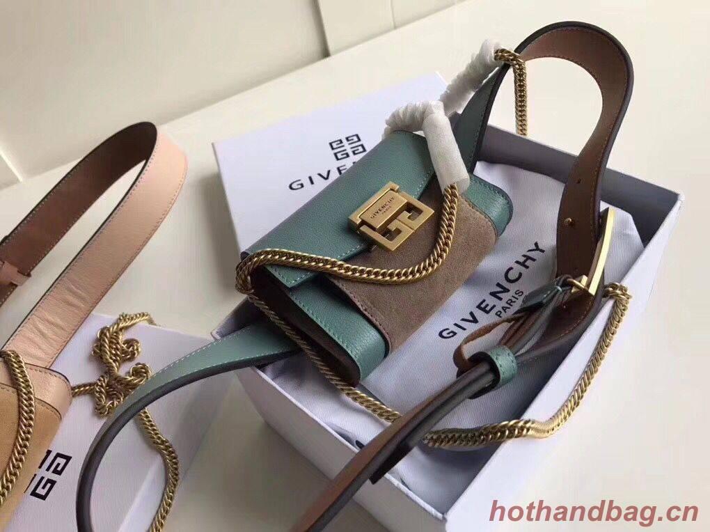 Givenchy 2018 GV3 Nano Belt Bag G89546 Green