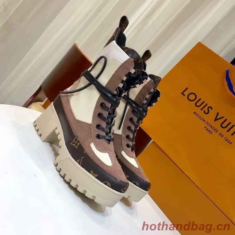 Louis Vuitton LAUREATE PLATFORM DESERT BOOT LVA918SY