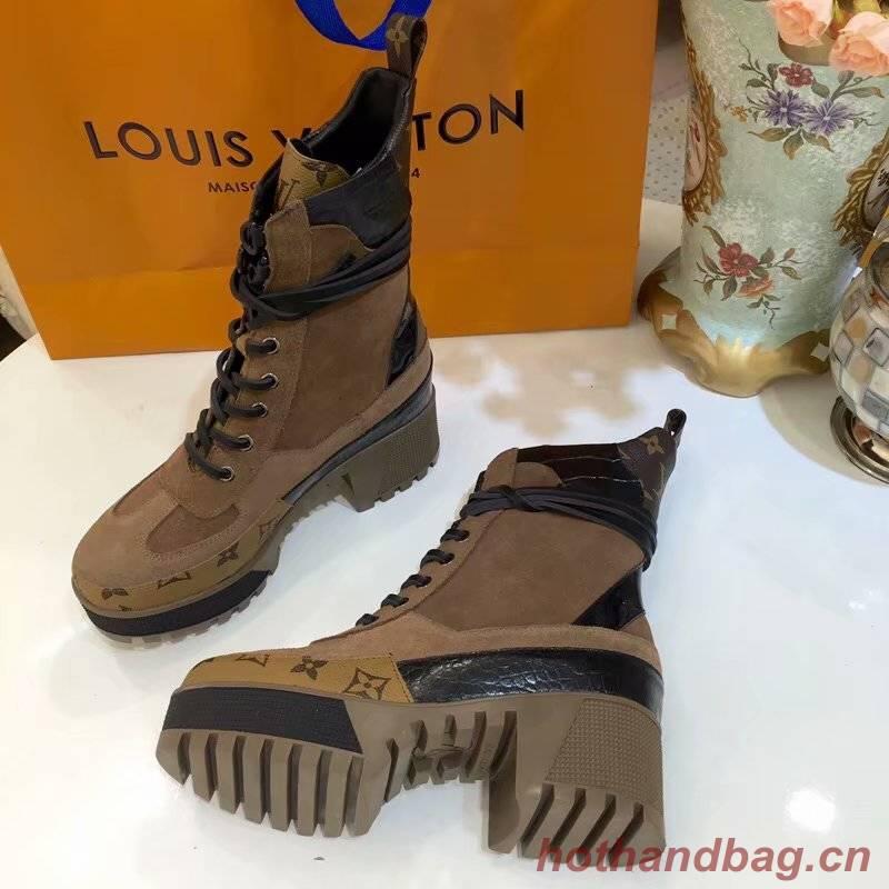 Louis Vuitton LAUREATE PLATFORM DESERT BOOT LVC918SY