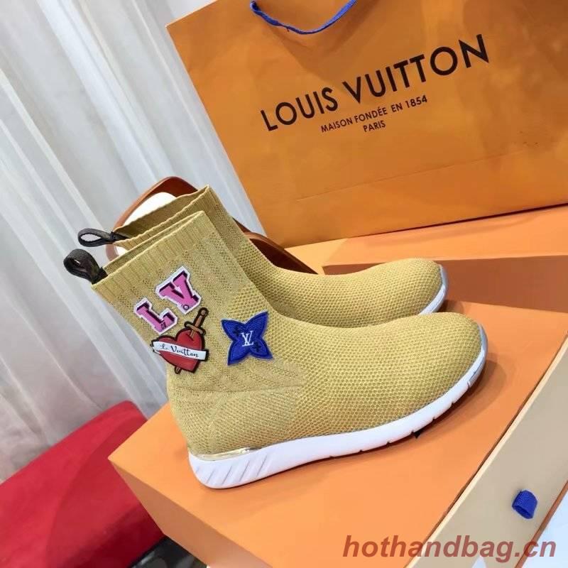 Louis Vuitton WONDERLAND FLAT RANGER LV922SY yellow