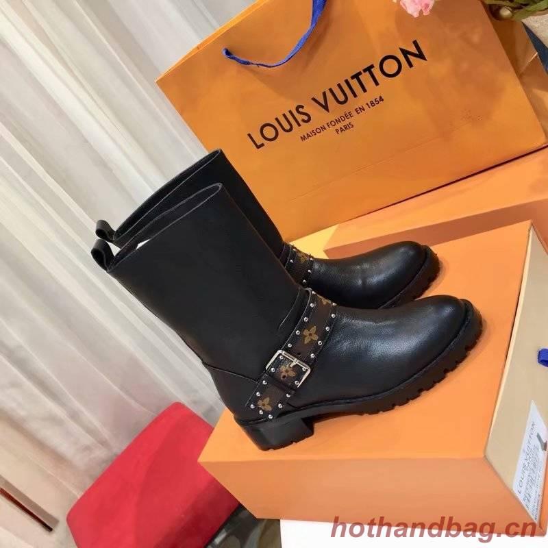 Louis Vuitton WONDERLAND FLAT RANGER LV926SY black