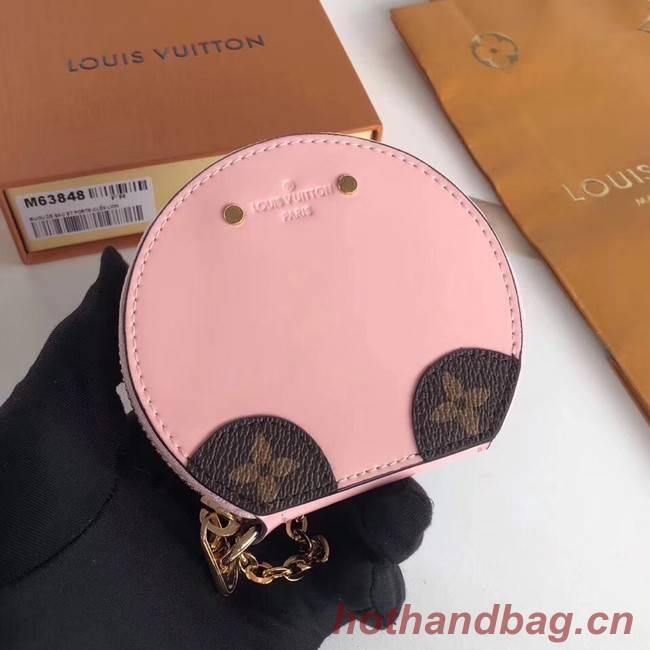 Louis Vuitton Monogram Vernis original MICRO BOITE CHAPEAU MM63484 pink