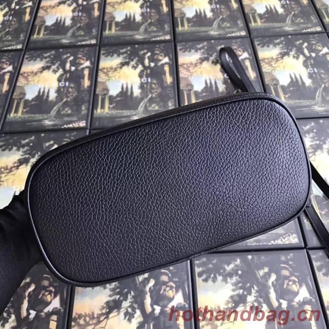 Gucci GG Leather Tote Bag 449661 black