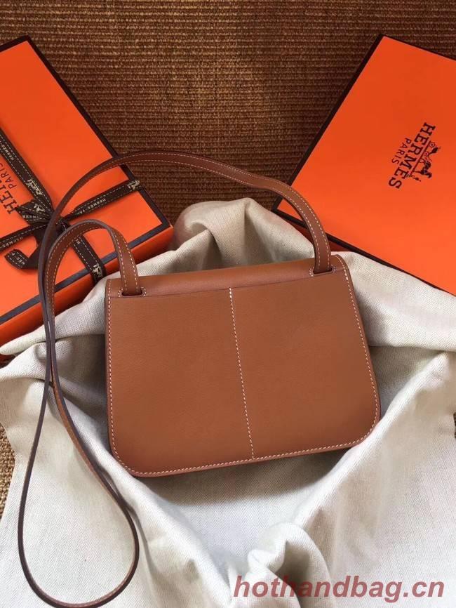 Hermes Original Halzan mini bag H069523 brown