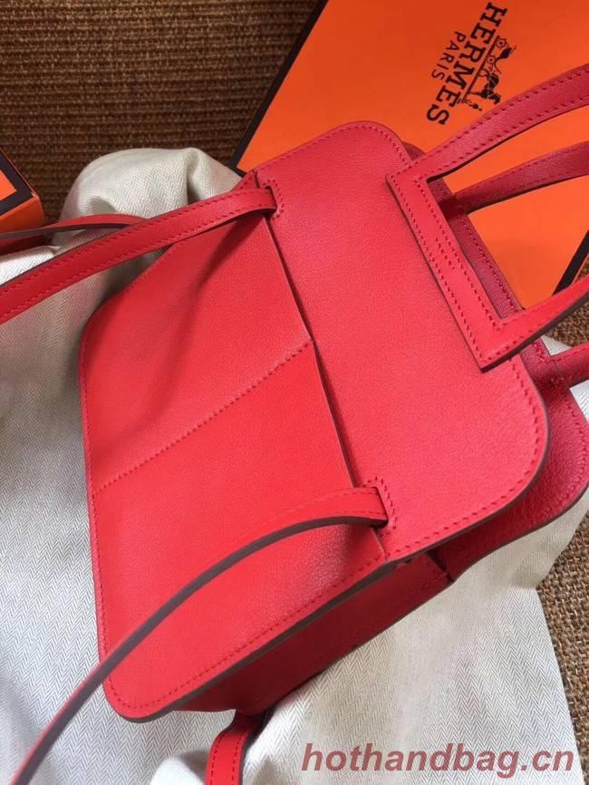 Hermes Original Halzan mini bag H069523 red