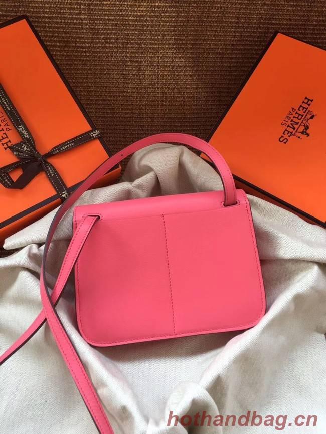 Hermes Original Halzan mini bag H069523 rose azalee