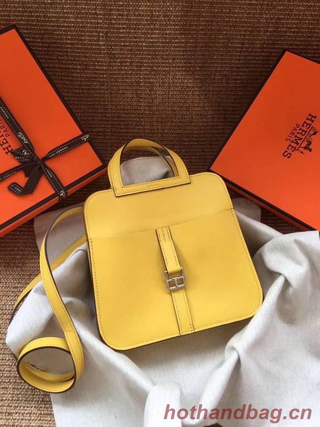 Hermes Original Halzan mini bag H069523 yellow