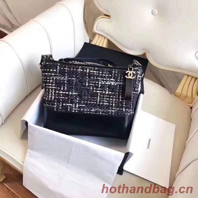 CHANEL GABRIELLE Hobo Bag A91810 black