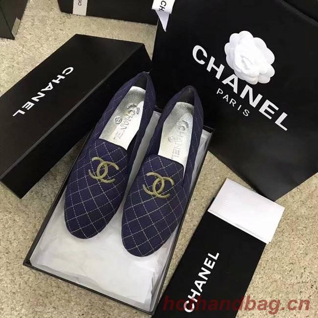 Chanel Espadrilles CH2444LS dark blue