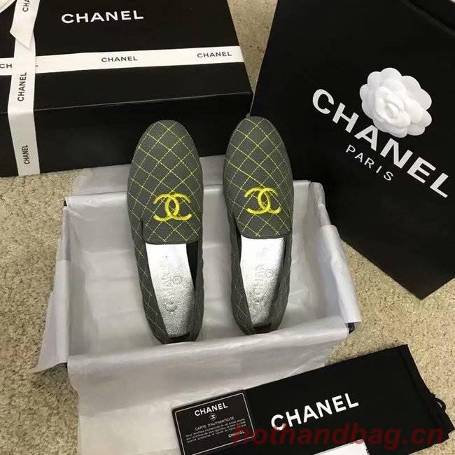 Chanel Espadrilles CH2444LS green
