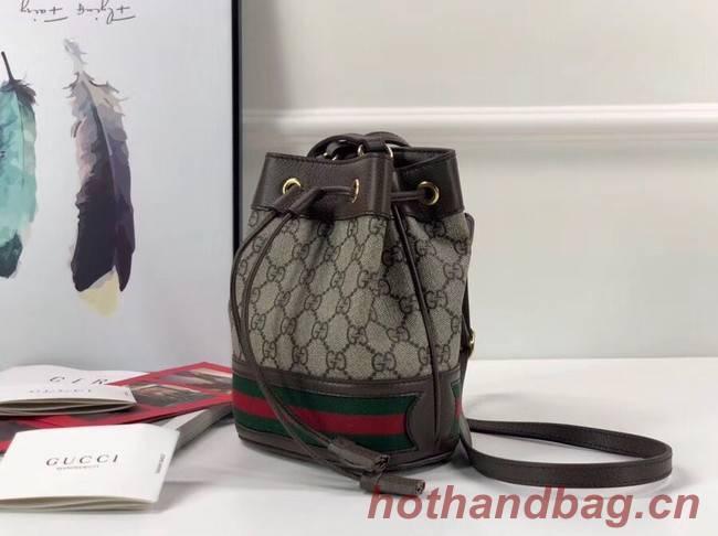 19045f934af69a Gucci Ophidia GG mini bucket bag 550620 Brown [550620-pv20181030 ...