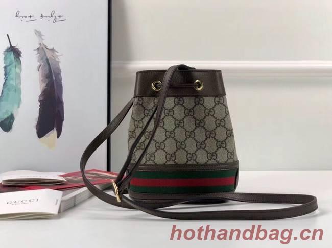 1e78f71127523 Gucci Ophidia GG mini bucket bag 550620 Brown  550620-pv20181030 ...