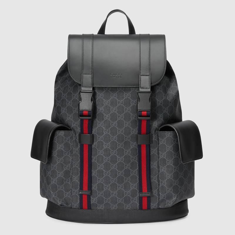 Gucci Soft GG Supreme backpack 495563 black