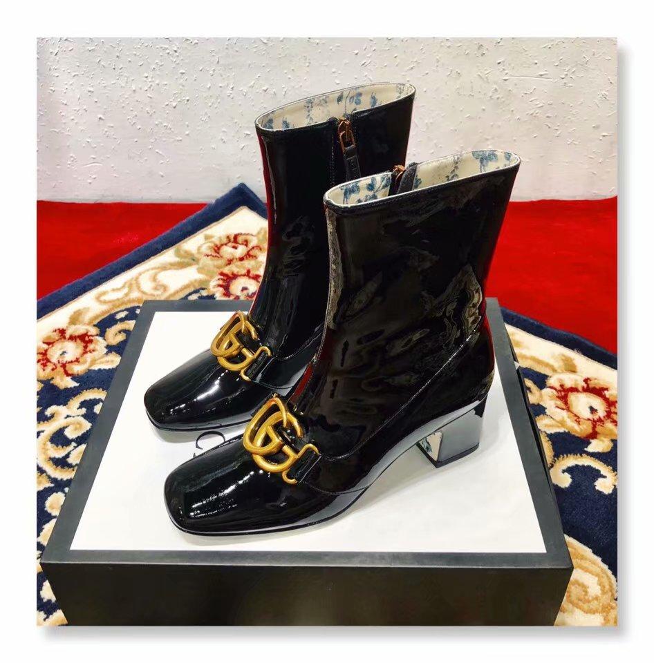 Gucci Shoes GG1436BL Black