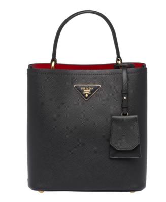 Prada Double Saffiano leather bag 1BA212 black