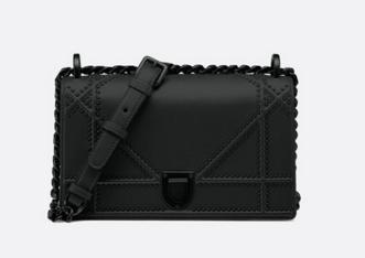 Dior KLEINE ULTRA BLACK DIORAMA-TAS M0421S BLACK