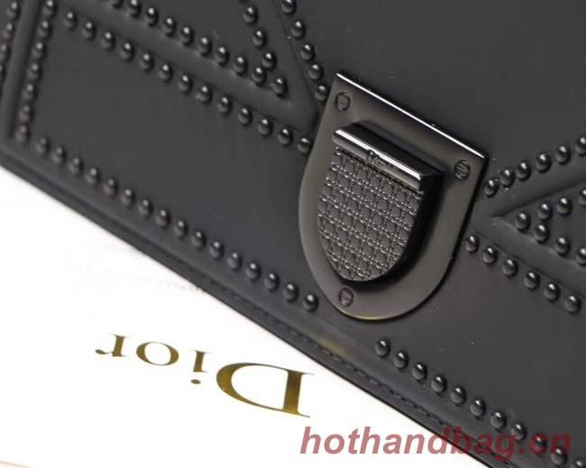 Dior KLEINE ULTRA BLACK DIORAMA-TAS M0422S BLACK