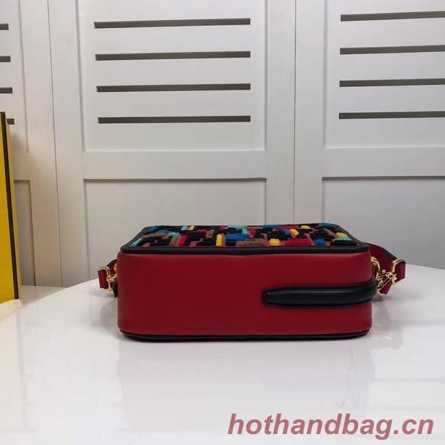 Fendi CAMERA CASE 8BT287A red